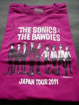 2011 TOUR  Tシャツ(フロント)