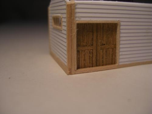Nゲージ シナリー鉄道倉庫2