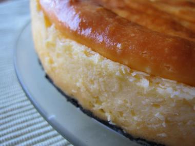 チーズケーキしっとり