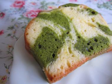 maaさんの抹茶マーブルケーキ