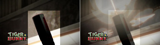 TIGER & BUNNY 第2話 銀行強盗犯のアサルトライフル