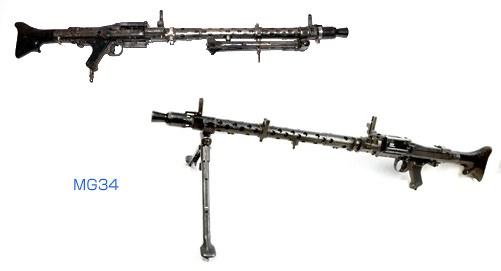 ラインメタル/マウザー・ヴェルケ MG34