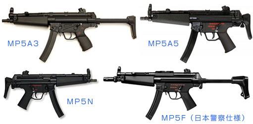 H&K MP5シリーズ