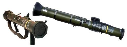 M136 AT-4ロケットランチャー