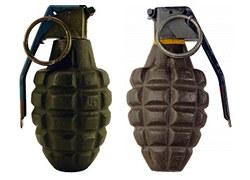 MK2破片手榴弾