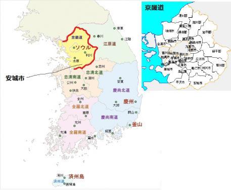 韓国 京畿道