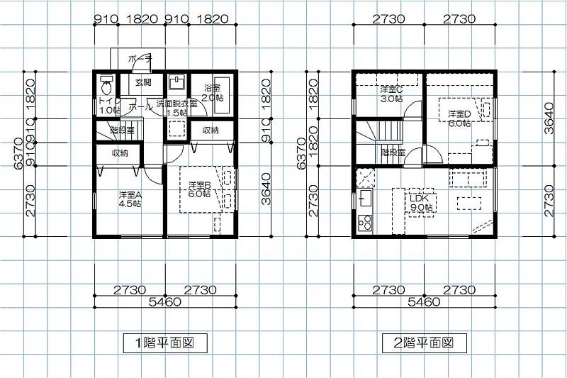 S-500万円住宅プラン1