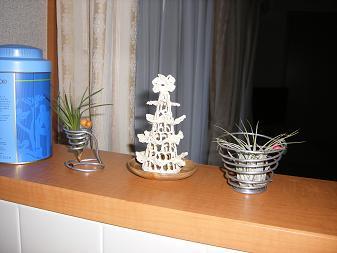 ナチュラルキッチンのツリー