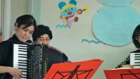 気仙沼第二保育園でのミニコンサート1