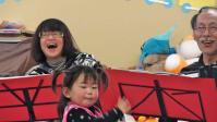 おひさま託児園でのミニコンサート2