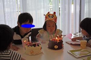 5歳誕生日10