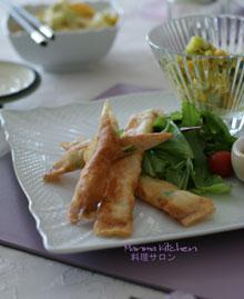2011年4月料理サロン