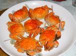 初めて食べました!上海蟹!!