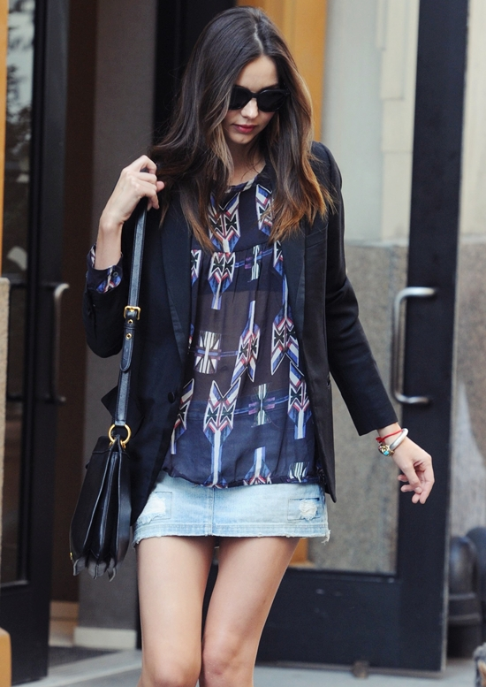 脚線美ならこの人!ミランダ・カー最新画像&ファッション