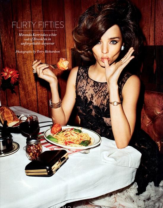 ミランダ・カー最新フォトショット!in Harper's Bazaar
