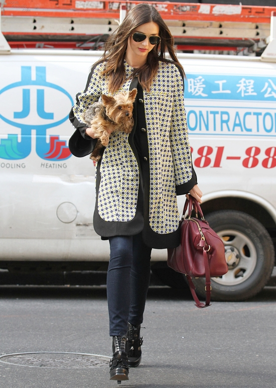 ミランダ・カー最新画像&ファッション★3月12日