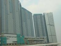 建設中のホテル
