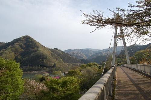 奥野ダムへ
