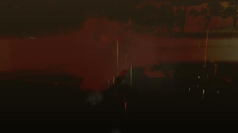 真っ暗なのだw