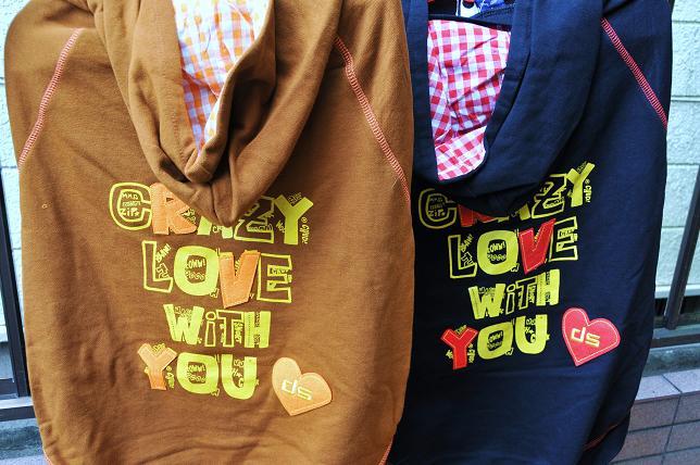 003 Crazy LOVE パーカー