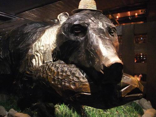 クマ―――!(木彫り