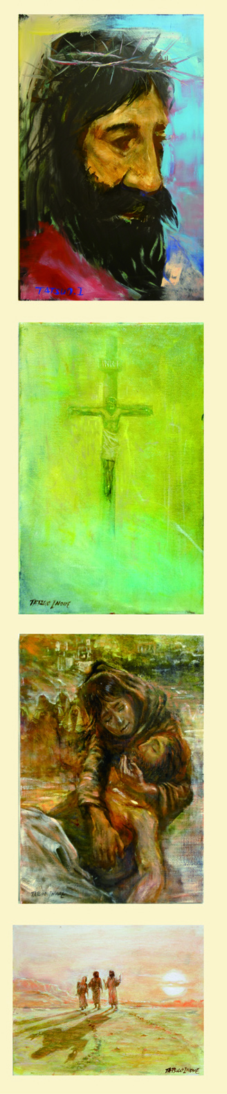 2011個展作品Line up1小