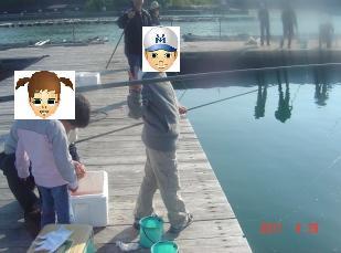 南紀白浜カタタの釣り堀②