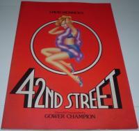 舞台パンフ 「42ND STREET(フォーティセカンド・ストリート)」(1986年8月/NHKホール)