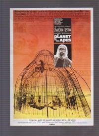 映画チラシ 「猿の惑星」