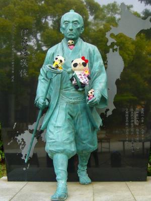 ぱんファミ記念撮影in富岡八幡宮