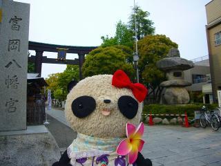 富岡八幡宮の大鳥居