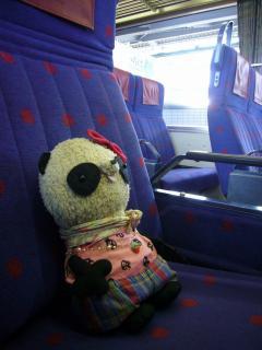 ばぶちゃん電車でお出かけ