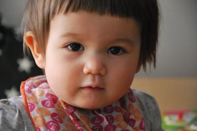 1歳2ヶ月の顔