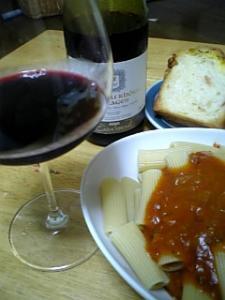 ワインとリガトー二