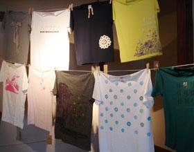 チャリティーTシャツ展