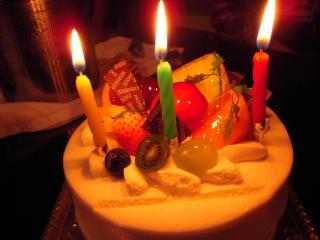 10月のケーキ