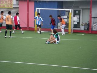 Futsal 試合の様子
