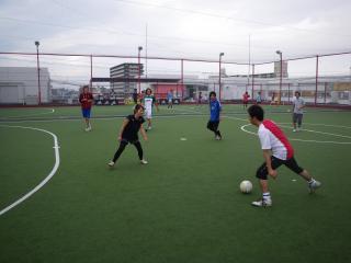 Futsal 女の子も参加