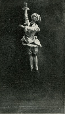 ヴァーツラフ・フォミッチ・ニジンスキー Vaslav Fomich Nijinsky 牧神の午後 バレエ 写真  跳躍