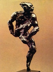 'Nijinsky' von August Rodin  オーギュスト・ロダン作『ニジンスキー』