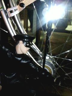 自転車ゲト