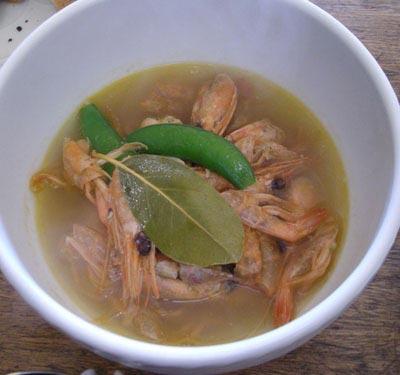 甘エビのスープ 2007.12.24