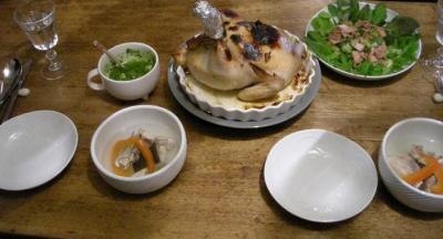 チキンの丸焼き!2007.12.24