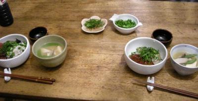 お手軽!はらぺこ!海鮮丼!2007.12.25