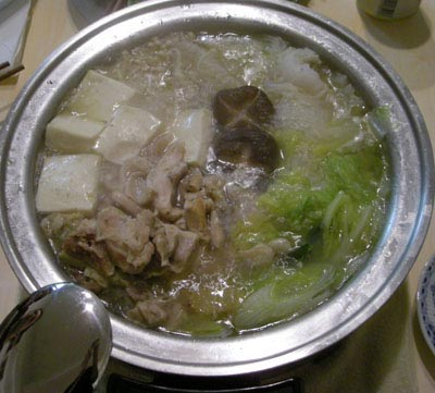 2007忘年会!水炊き鍋。