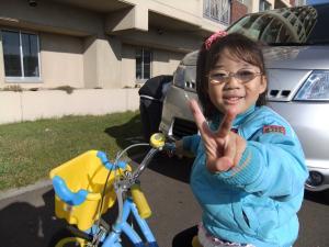 自転車と姫