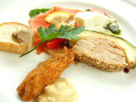 イルポルト前菜