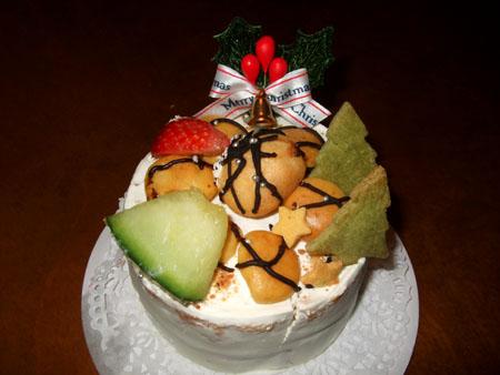 クリスマスケーキ(2007/12/24)