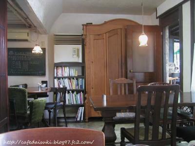 AGカフェ◇店内