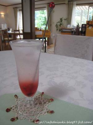 ATELIER JULIA ROSE◇薔薇シロップのソーダ割り